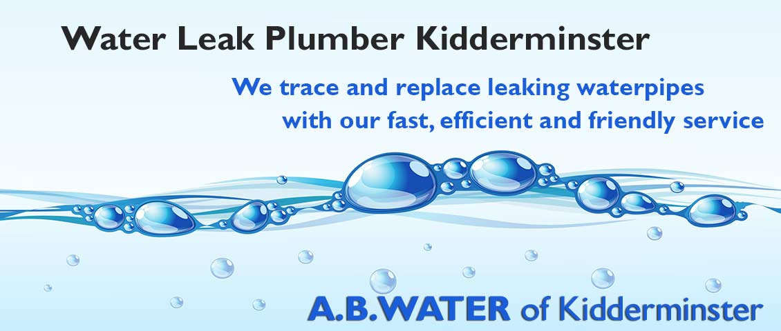 water-leak-plumber-kidderminster-