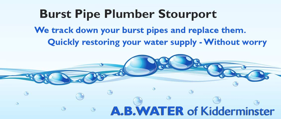 water-leak-plumber-stourport