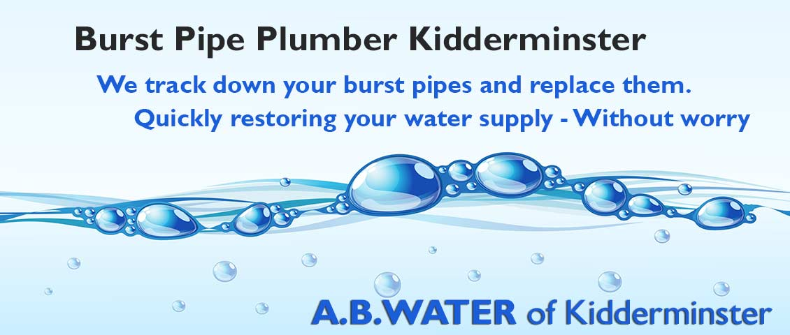 water-leak-plumber-kidderminster