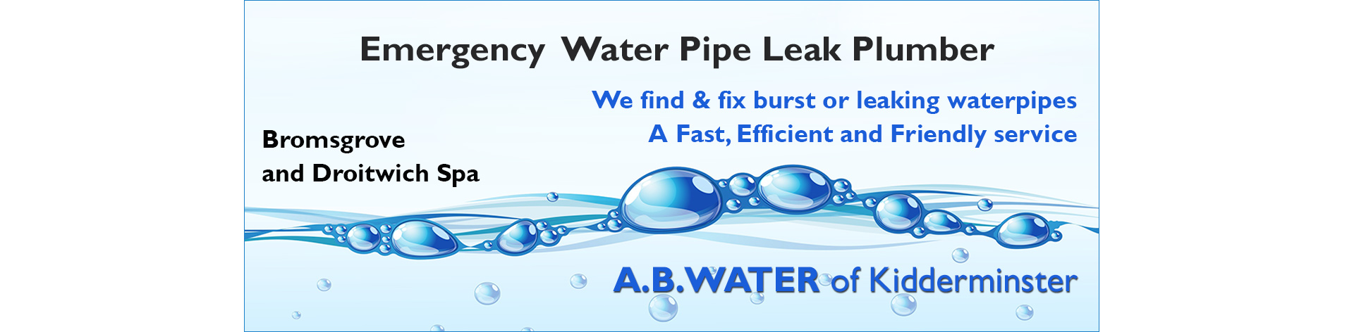 emergency-water-pipe-repairs-bromsgrove