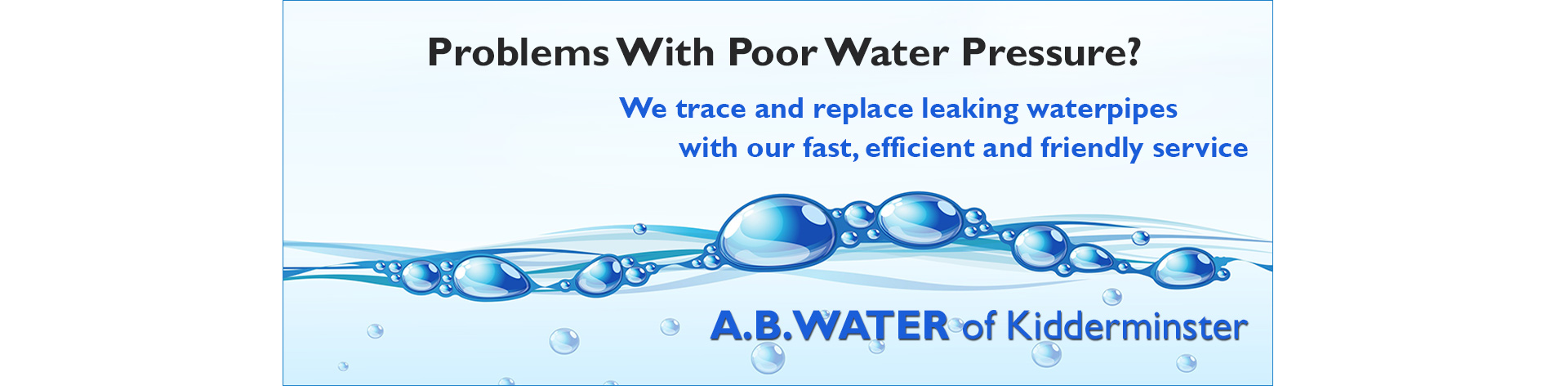 fix-low-water-pressure-worcestershire