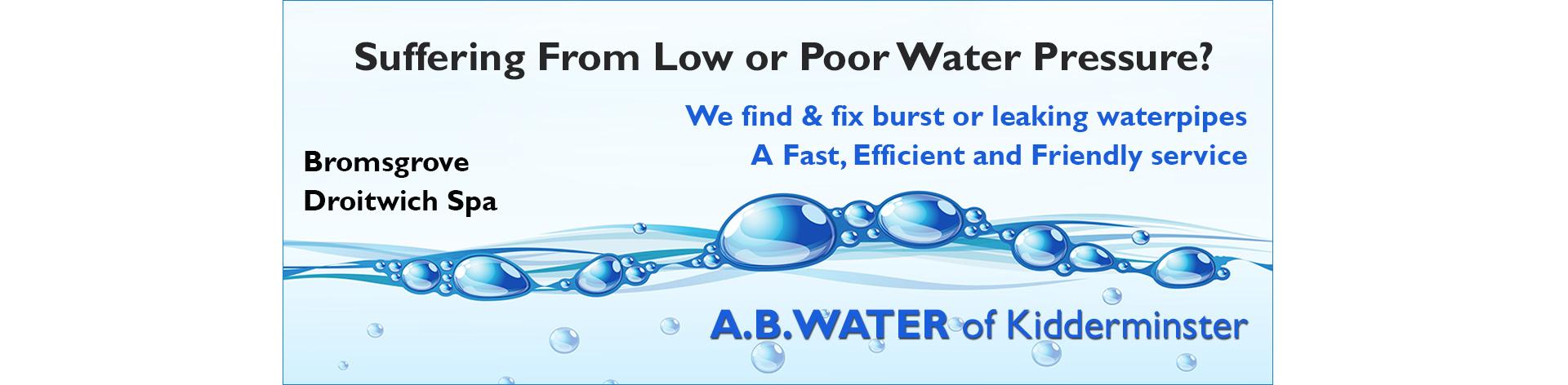 poor-water-pressure-bromsgrove