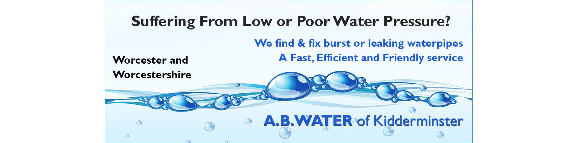 poor-water-pressure-worcestershire