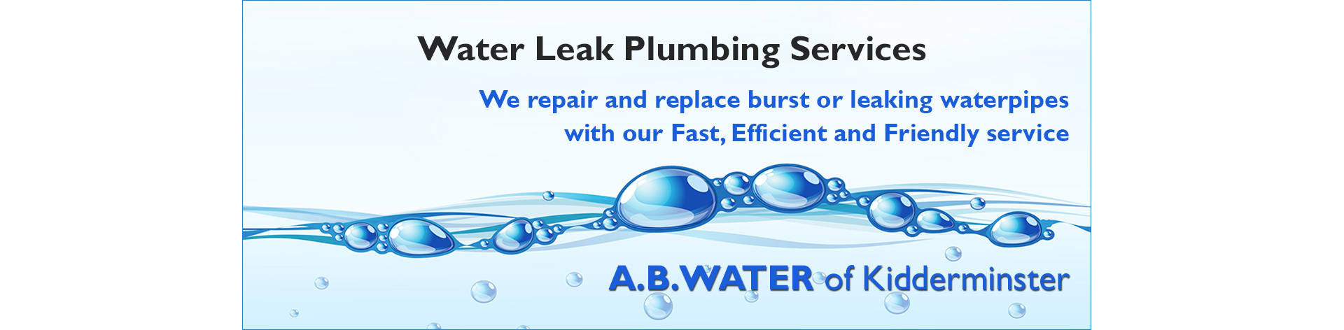 water-leak-plumbing-service-worcestershire